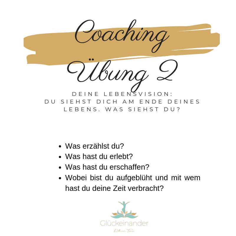 Coaching Übung 2 Ziele erreichen